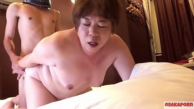 57 years elderly chinese huge mama enjoys blowjob and romp with her furry cunt and hefty tits. old asian girl shows her senior cool body. coco 3 cougar bbw Osakaporn