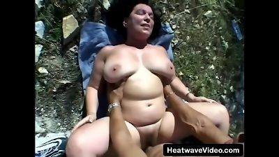 2 moms have some lovemaking with a younger stud who enjoys pounding aged dolls
