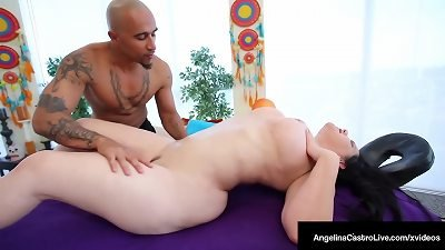 fat Latina Angelina Castro screwed By hefty man meat King Noire!